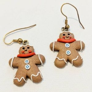 Jewelry - Gingerbread Earrings